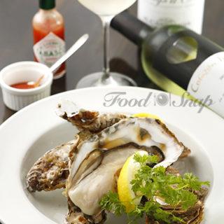 ワインと牡蠣のイメージ