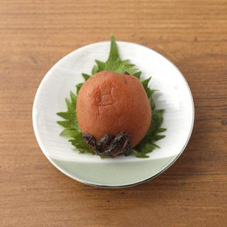 sample「和食・梅干し」
